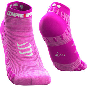 Compressport Pro Racing V3.0 Run Low Socks pink/melange